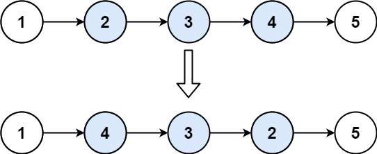 leecode-92-反转链表II